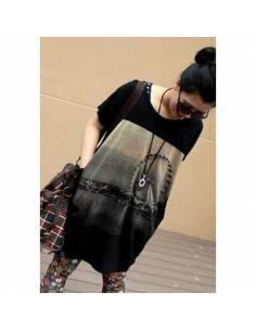 Tee-shirt Noir Black Chic Street