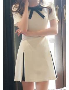 Robe Chic Col Noeud