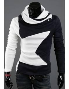 Pull Korean Style Blanck & White