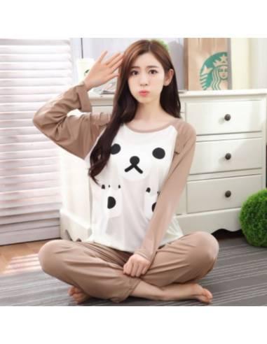 Pyjama japonais motif varié
