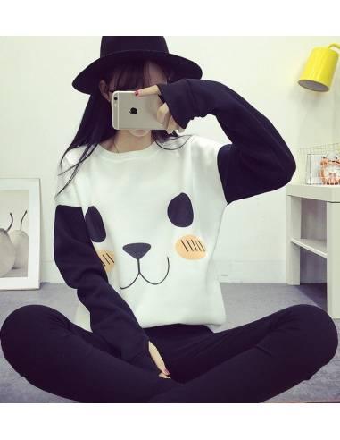 Pull coréen panda