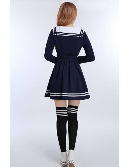 Ensemble 3 pièces uniforme sailor coréen