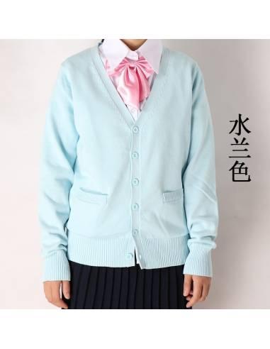 Chandail gilet façon uniforme scolaire