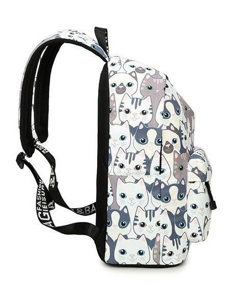 Cartable japonais kawaii chat