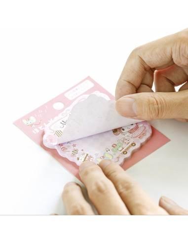 Papeterie japonaise coréenne - Bloc-Notes Kawaii sanrio - feuille détachée