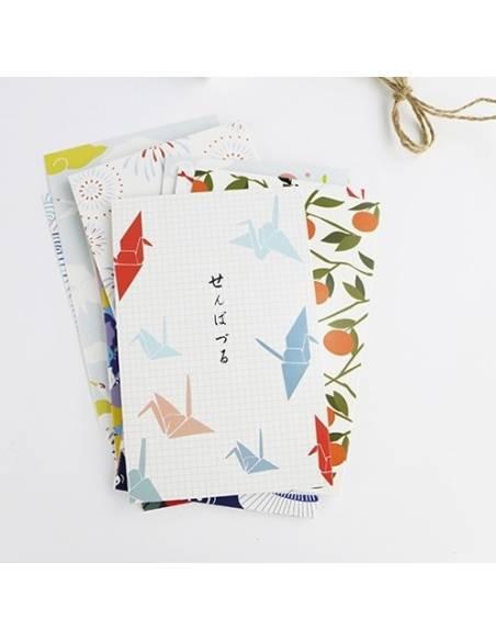 Papeterie japonaise - Carte postale japonaise Animaux - oiseau