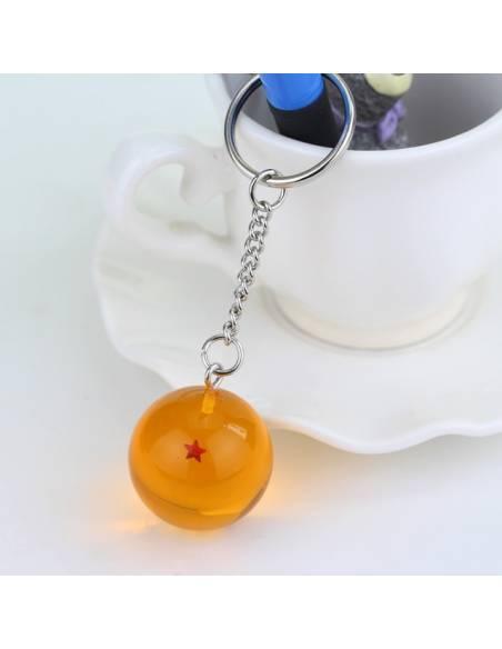 Manga japonais - Porte-clé Boule de Cristal Dragon Ball Super 1 étoile