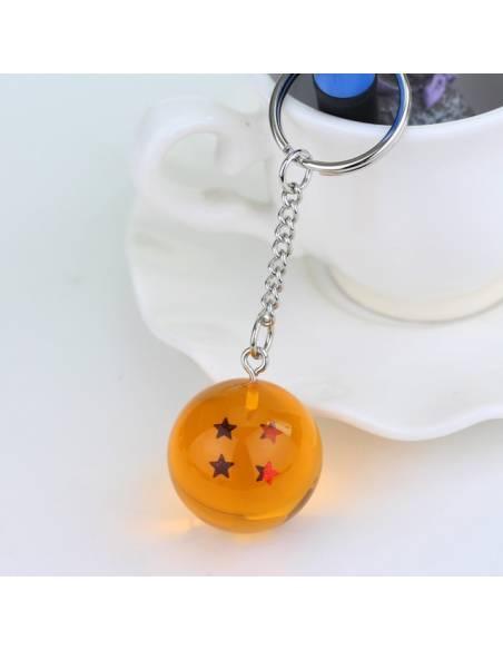 Manga japonais - Porte-clé Boule de Cristal Dragon Ball Super 4 étoiles -