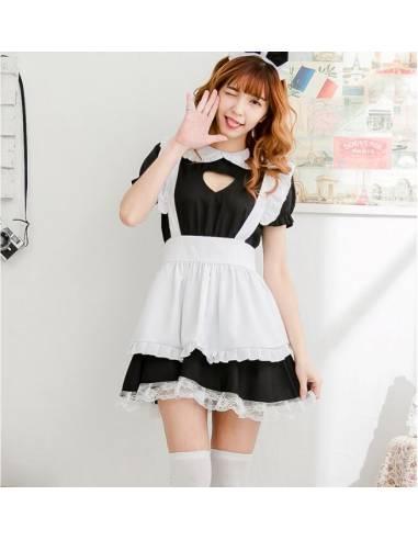Uniforme cosplay Maid Japonaise