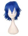 Perruques bleu