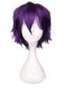 Perruque violet