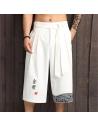 Pantalon large japonais