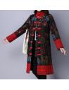 Manteau à col montant imprimé