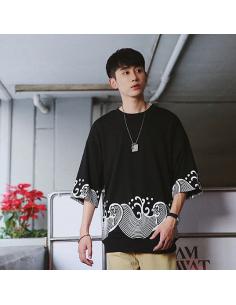 T-shirt Harajuku streetwear oversize