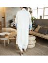 Kimono long blanc