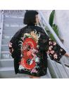 Kimono dragon rouge