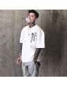 T-shirt imprimé kanji
