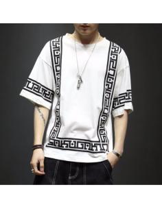 T-shirt Harajuku white