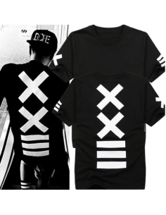 T-shirt HipHop noir sympoles