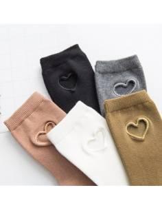Chaussettes kawai coeur