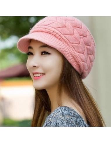 Bonnet coréen avec visière