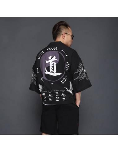 Kimono Yin et yang
