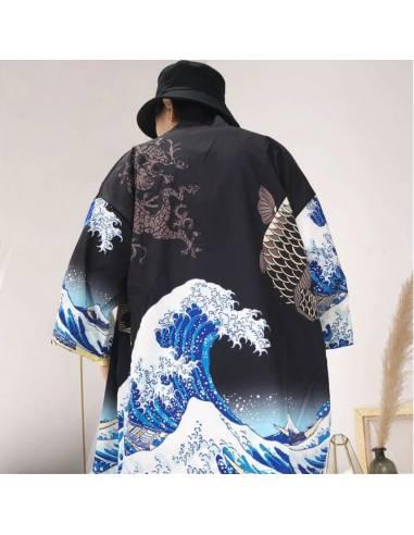 Kimono Nami Noir