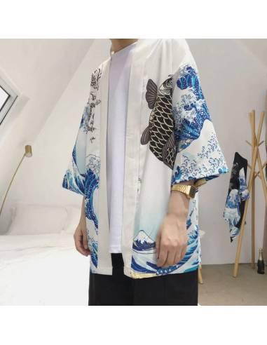 Kimono Nami Blanc