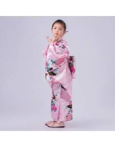 Kimono japonais enfant fille