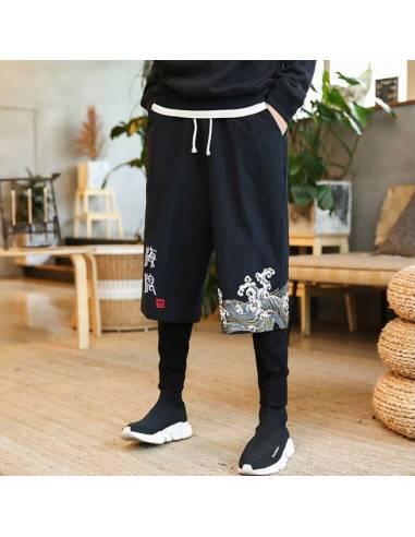Pantalon long Harajuku