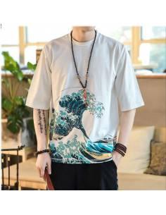 T-shirt Ōkina nami