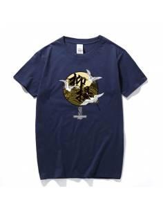 T-shirt Kurēn et motif Kanji