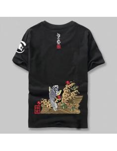 T-shirt Sakana dorée