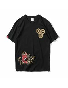 T-shirt Hip Hop Ukiyo E Koi
