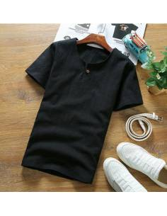 T-shirt simple coton & lin