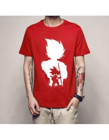 T-shirt Dragon Ball Z Végéta Super Saiyan Goku
