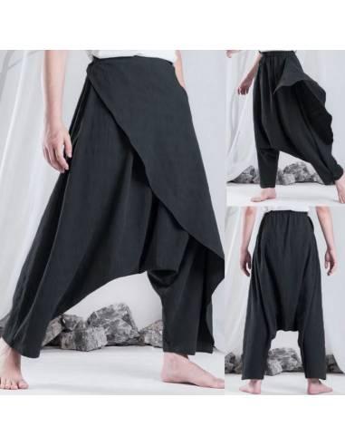 Pantalon Large Harem Ethnique