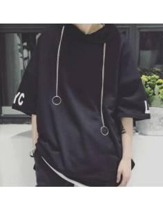 T-shirt à capuche Nekkuresu