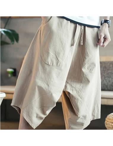 Pantalon Sarouel Japonais