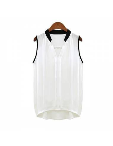 Top Blouse Effet Chic
