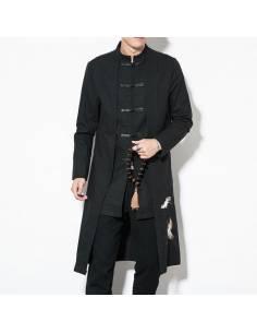 Kimono long façon manteau