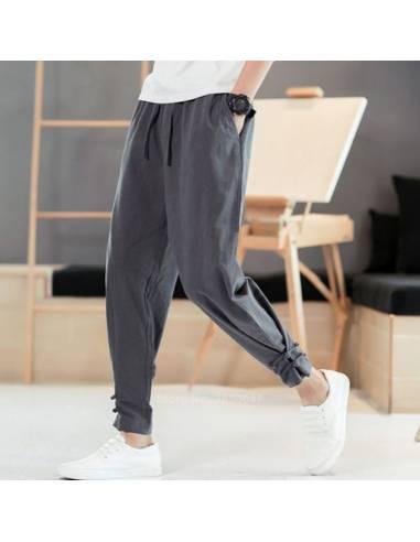 Pantalon Haori Streetwear Gris