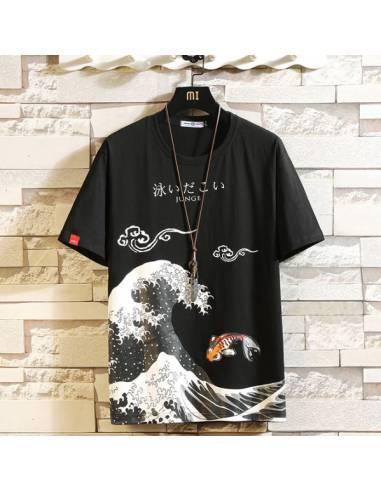 T-Shirt Kuroi nami
