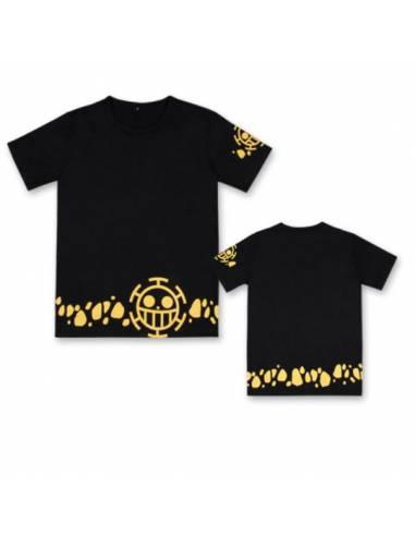 T-shirt Animé One Piece Yellow