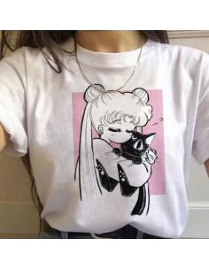 T-shirt On'nanoko kitty