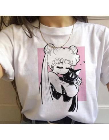 T-shirt On'nanoko kitty