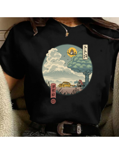 T-shirt Totoro Sekai