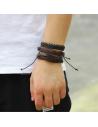 Lot de 6 Bracelet Tressés
