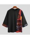 T-Shirt Patchwork Etonī