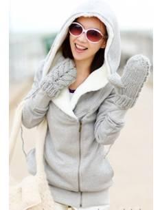 Sweat zippé à capuche - Mode asiatique, japonaise et coréeene - japean.com